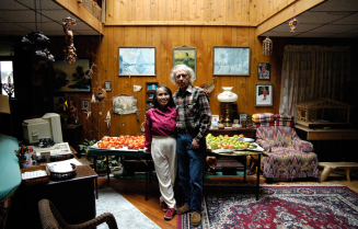 Sudjai & Dick Bentley, Tupper Lake, NY