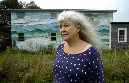 Elinor Randall, artist, Plainfield, VT